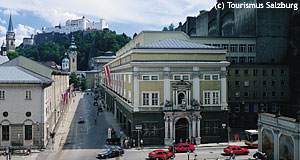 The Festival Hall (Festspielhaus), home to the famous Salzburg Festival.