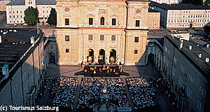 Salzburg is famous for the Salzburg Festival and particularly for the Jedermann.