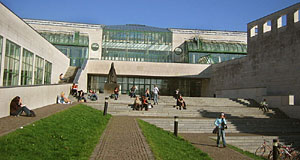 The NAWI or Science Faculty is Austria's biggest university building.