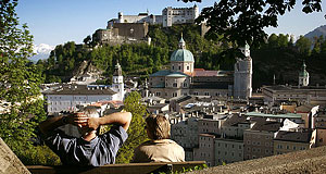 Salzburg can be found at the heart of Europe.