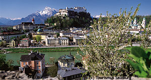 Salzburg, Austria's most beautiful city. So we say.