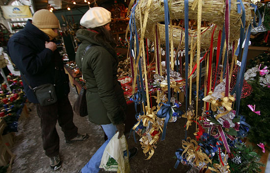 Christmas Markets can be found in various corners of Salzburg throughout Deccember.